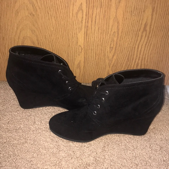 jcpenney Shoes | Black Wedges | Poshmark
